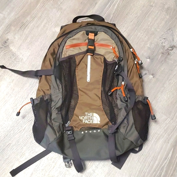 The North Face Recon embroidered logo backpack